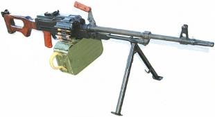 7,62-мм единый пулемет Калашникова ПК/ПКМ (ПКС/ПКМС)