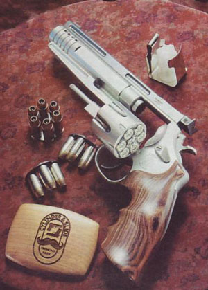 Револьвер для боулинга.