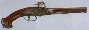 Пистолет XVII века из Брешии