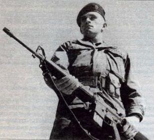 Боец группы специального назначения США во Вьетнаме 1969 г.