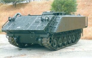 ДЗ L-VAS на БТР М113.