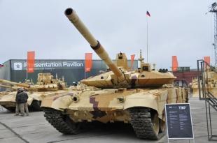Т-90СМ с комплексом «Реликт»