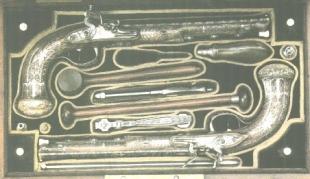 Набор дуэльных пистолетов