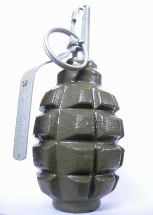 Ручная осколочная оборонительная граната Ф-1