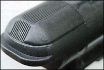 декоративная накладка на торце воздушного цилиндра