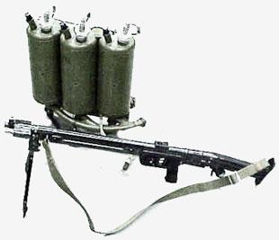 Легкий пехотный огнемет ЛПО-50