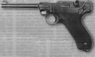7,65-мм пистолет модель 1900 - пока это еще не Parabellum, а только Borchardt—Luger — основоположник династии одной из самых знаменитых в мире систем пистолетов.