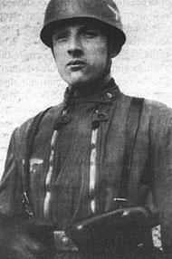 Немецкий солдат с Parabellum