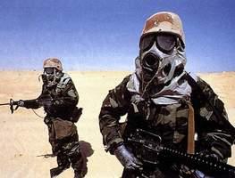 солдаты со штурмовой винтовкой M16a2