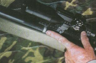 Новая винтовка M40A3 оснащается десятикратным потическим прицелом фирмы Unertl