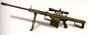 Снайперская винтовка M82A1