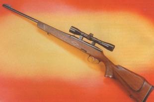 Карабин МЦ 19-07 снабжен ложей с шейкой пистолетной формы и выступом под щеку, изготовленной из ореха высокого сорта.