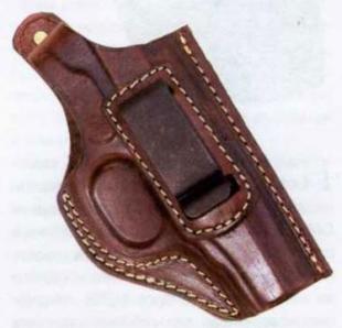 Для скрытого ношения пистолета может быть использована переносная кобура