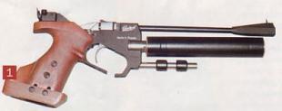 Компрессионный пистолет предварительной накачки МР-672.
