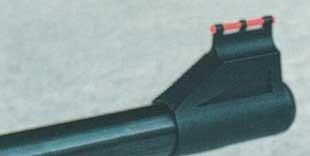 Мушка «Норики» с красной оптоволоконной вставкой.