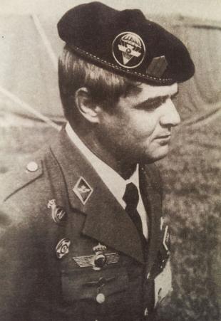 Офицер Воздужно-десантной бригады Испания