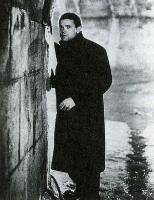 Орсон Уэллс в фильме «Третий», который считается одним из лучших шпионских фильмов