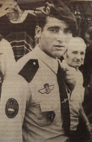 Парашютист Воздушно-десантной бригады Испания