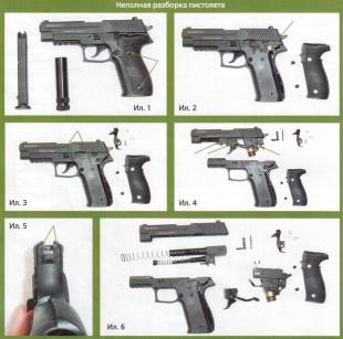 Разборка пистолета RAM-50
