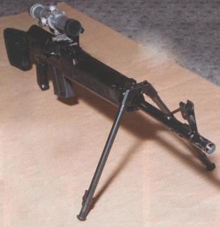 Remington с оптикой и сошкой