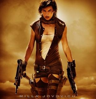 Постер к фильму. Элис с пистолетами-пулеметами