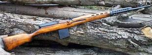 7,62-мм самозарядная винтовка Токарева образца 1940 года СВТ-40