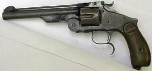 4,2-линейный (10,67 мм) револьвер Смита-Вессона образца 1869 года
