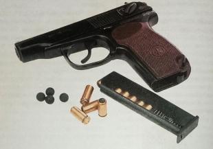 Травматический пистолет МР-79-9T «Макарыч»