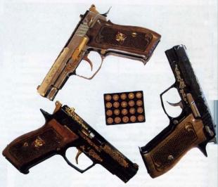 Пистолет выпускается как в стандартном, так и в подарочном исполнении.