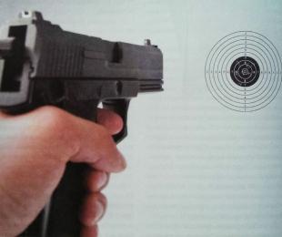 Дальность прицельной стрельбы травматических пистолетов невелика. Это стоит учитывать на тренировках