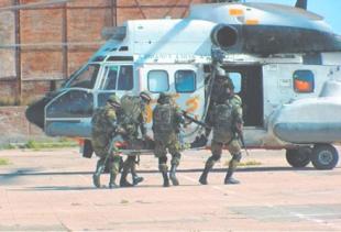 Испанские ВВС десантное подразделение