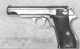 История пистолета Walther Р.38 началась с 9-мм Walther MP первой модели. В этом пистолете еще не проглядывается Р.38, он очень похож на увеличенный в размерах Walther PP.