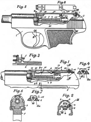 Схема сборки Walther Р.38