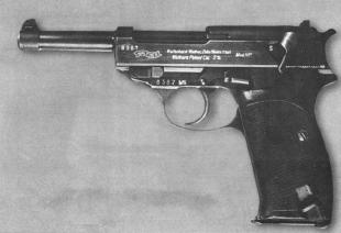 Пистолет Walther HP - это уже почти Р.38. Осталось доработать лишь некоторые детали конструкции.
