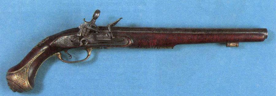 Пистолет из Центральной Италии (1760)