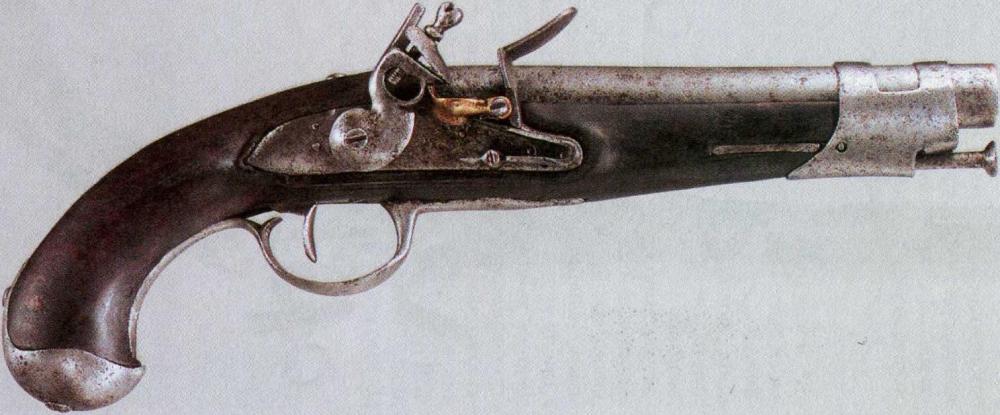 Французский пистолет модели «IX год Республики»