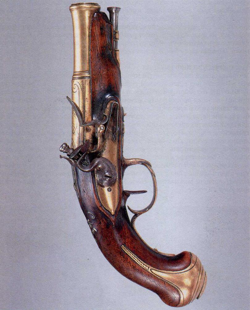 Французский пистолет для флота
