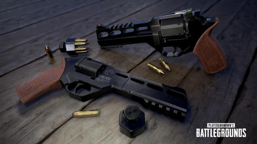В игре PLAYERUNKNOWN'S BATTLEGROUNDS появится револьвер R45