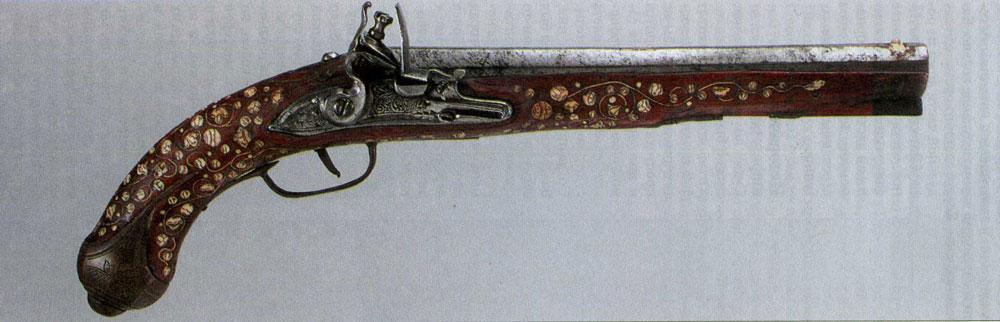 Декорированный пистолет из Силезии