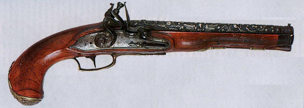 Немецкий декорированный пистолет