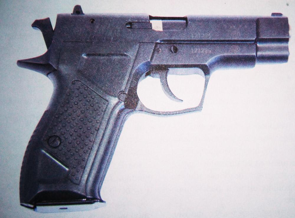 Травматический пистолет «Гроза-02»