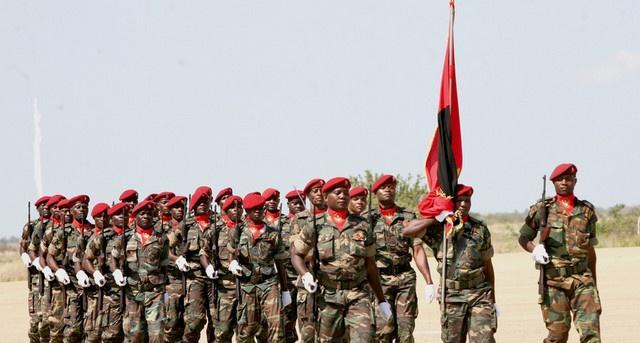 Вооружённые силы республики Ангола