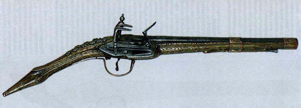 Балканский пистолет далматинского образца