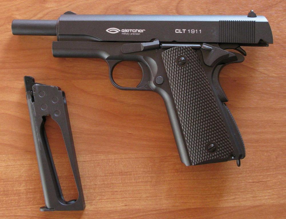 Обзор Gletcher Colt1911